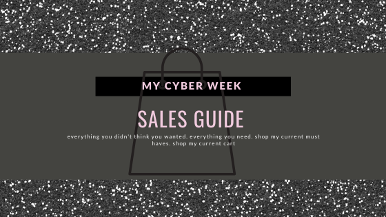 Cyber Week Holiday Sales What S In My Cart The Fashion Muse