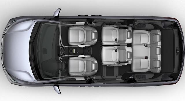 2018 Honda Odyssey cutaway