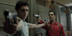 "Money Heist Season 1 Episode 7: ""Refrigerada inestabilidad"" or ""Cool Instability."""