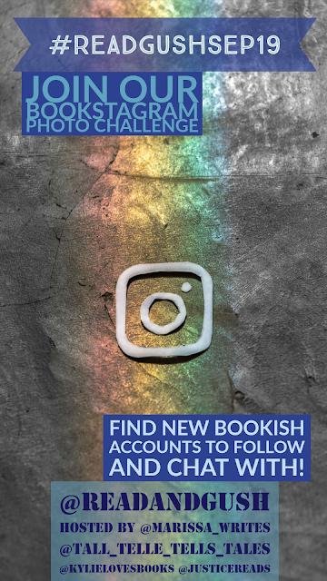 Read and Gush September Bookstagram Challenge