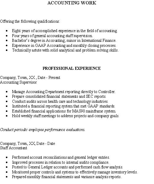 fresh jobs and free resume samples for jobs resume for accountant