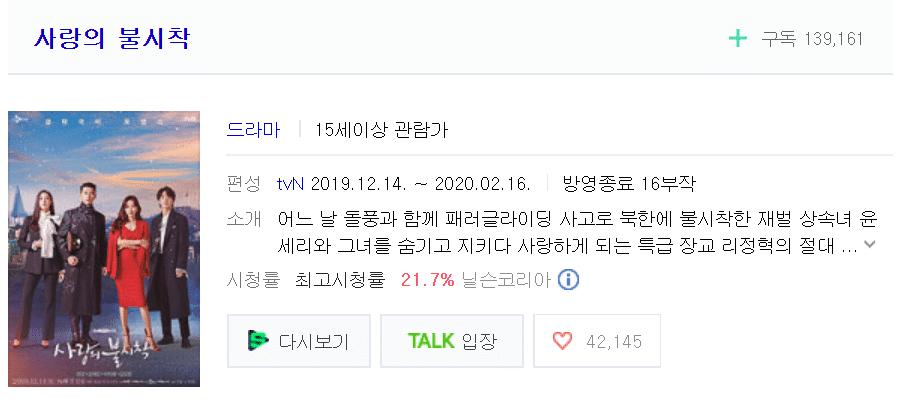 [THEQOO]2020'de iyi reyting alan Kore dizileri