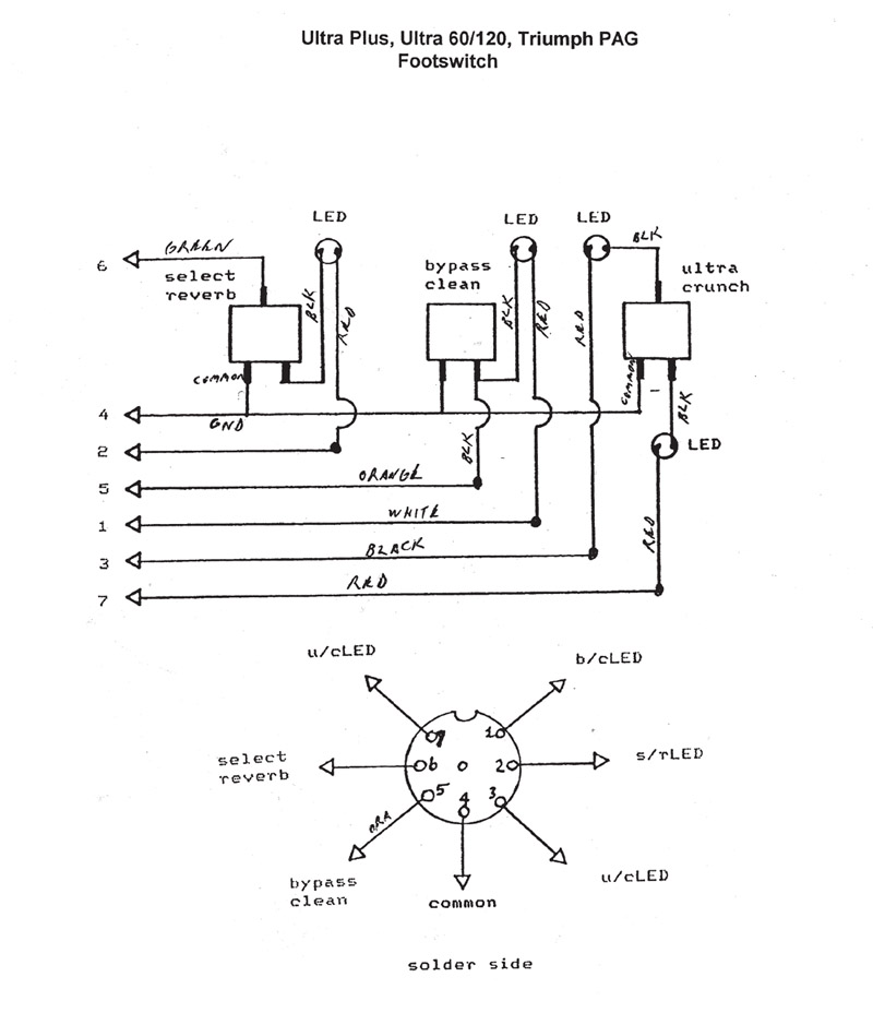 Peavey Footswitch Wiring Diagram Online Wiring Diagram