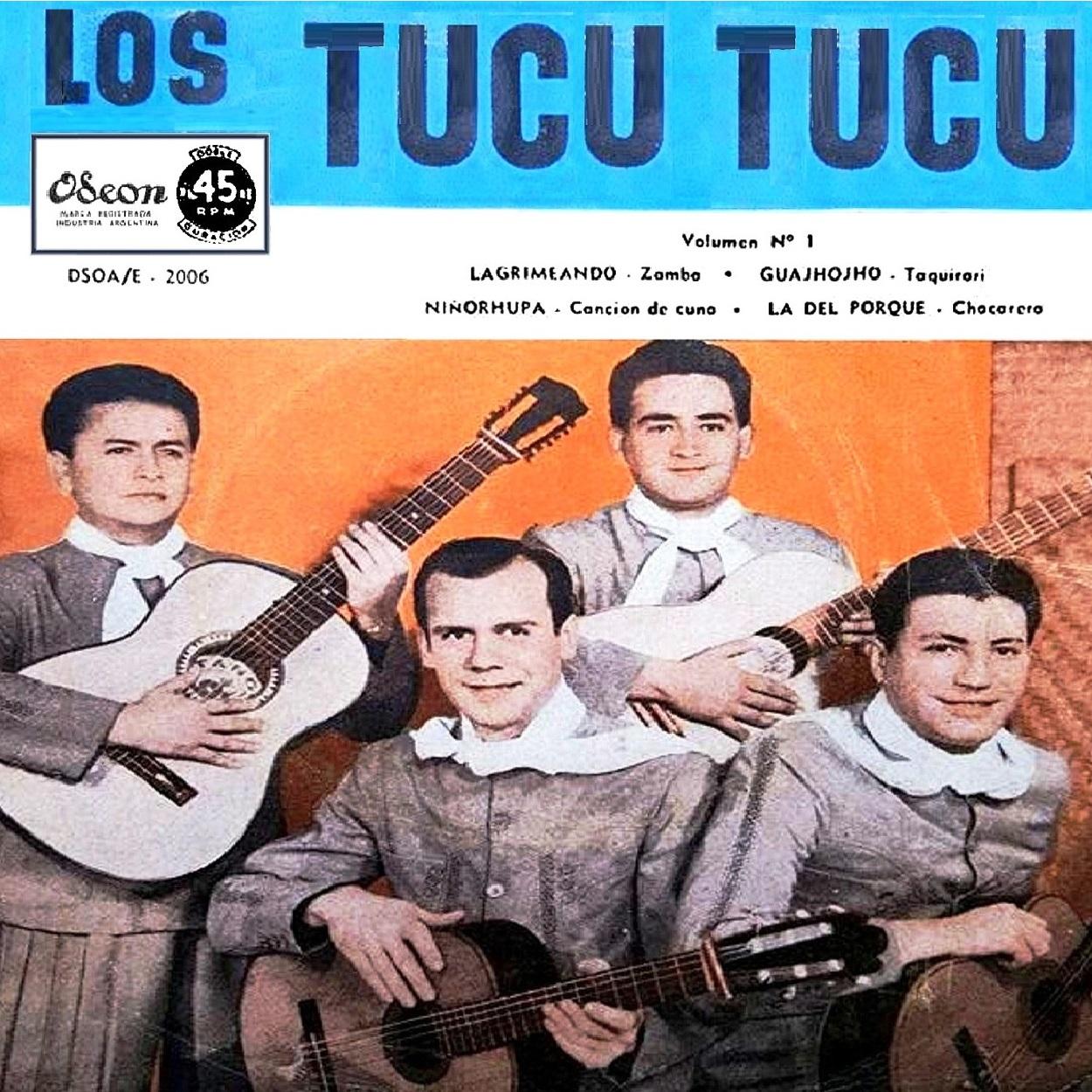 db6b4e5f1 Folklore del NOA: LOS TUCU TUCU - SU PRIMER SIMPLE DOBLE DURACIÓN ...
