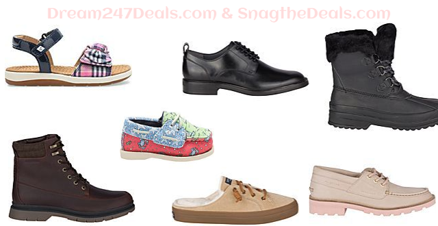 SPERRY Mens Womens & Kids Stock Up & Save - Buy 1 Get 30% Off Buy 2 Get 40% Off