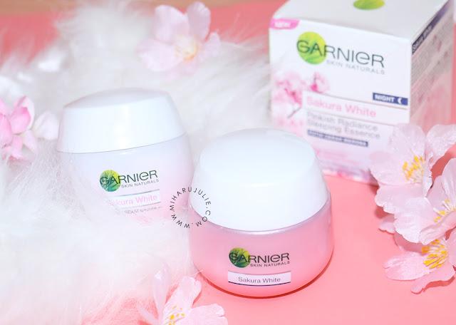 garnier Sakura White Pinkish Radiance Whitening Cream review