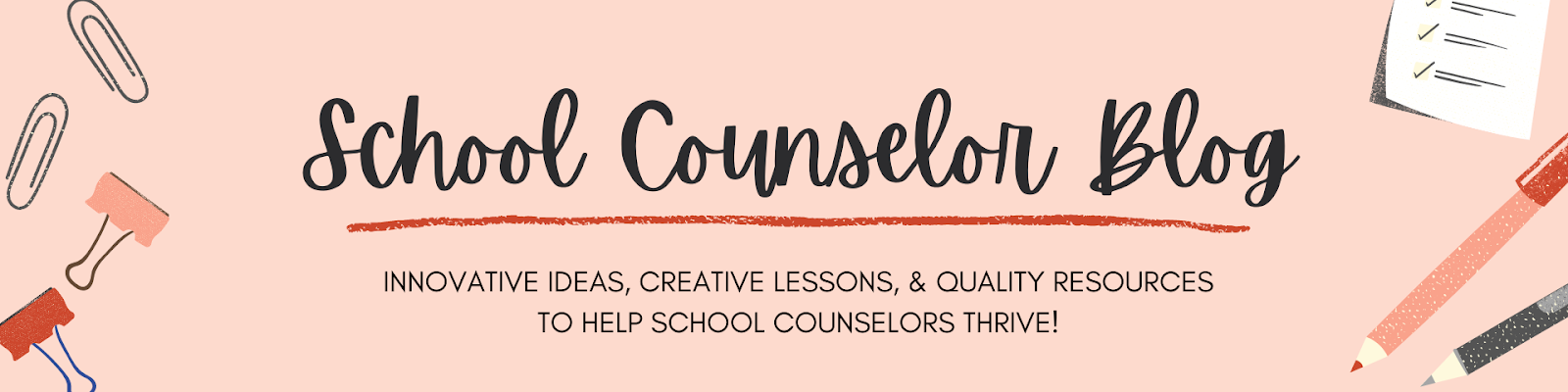 School Counselor Blog