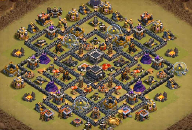 Base COC TH9 War 5