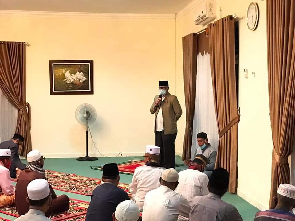 Dipercaya Menjabat Pjs Bupati Lingga, Juramadi Esram Mintu Dukungan dan Doa Restu