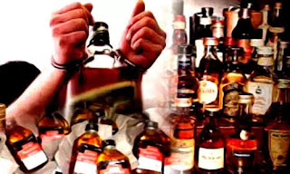 शराब को लेकर छापेमारी,चार कारोबारी गिरफ्तार, शराब को लेकर थानाध्यक्ष लगातार कर रहे है छापेमारी।