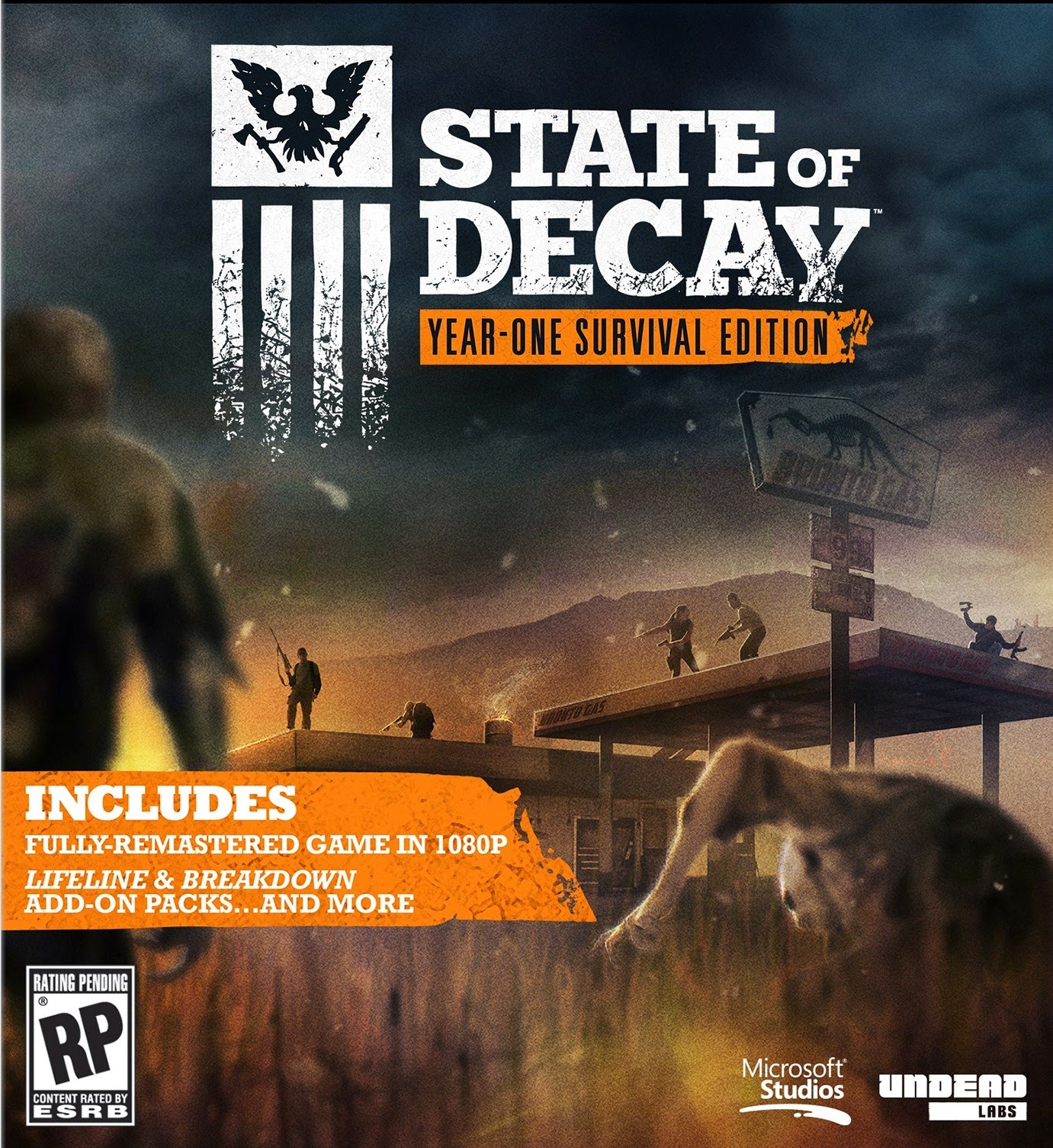 State Of Decay Year One ESPAÑOL Full PC Cover Caratula