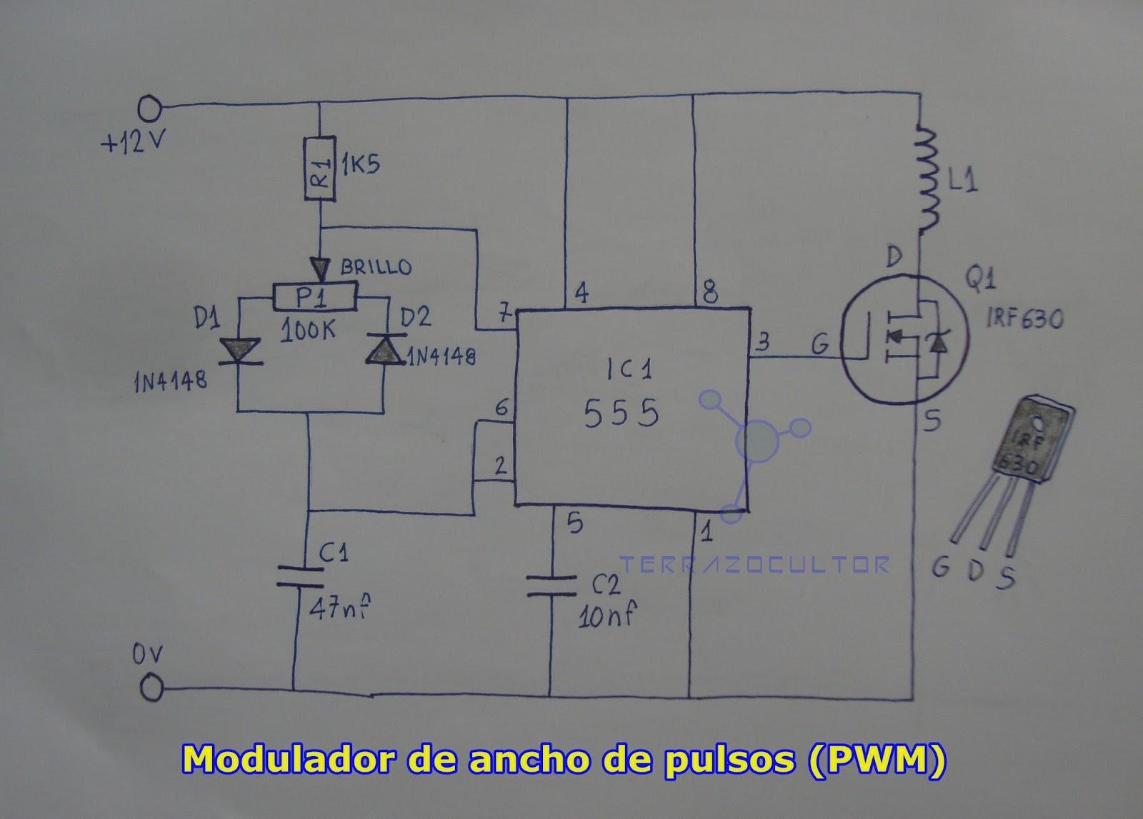 Circuito Modulator Ask Con 555 : Ciencia inventos y experimentos en casa lámpara por