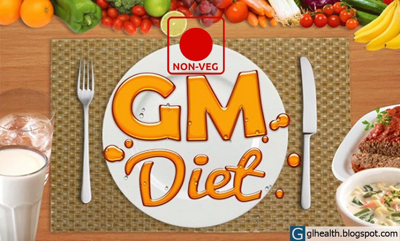 Cara Menurunkan berat badan dengan diet GM (General Motor)