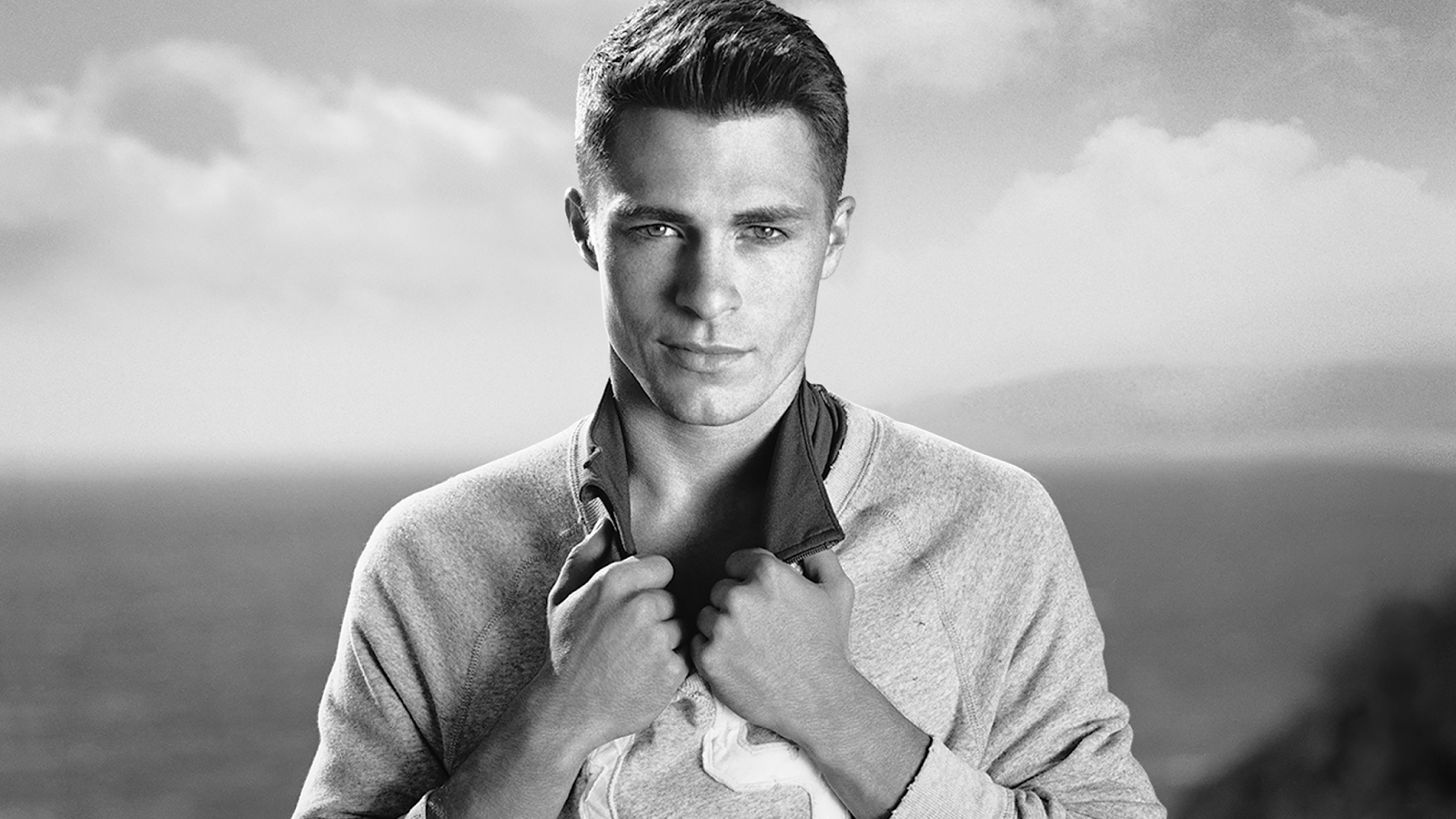 Someone s TOO sexy for his shirt   Colton Haynes Ralph Lauren