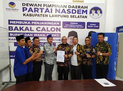 TEC Tanda Tangani Pakta Integritas Partai NasDem