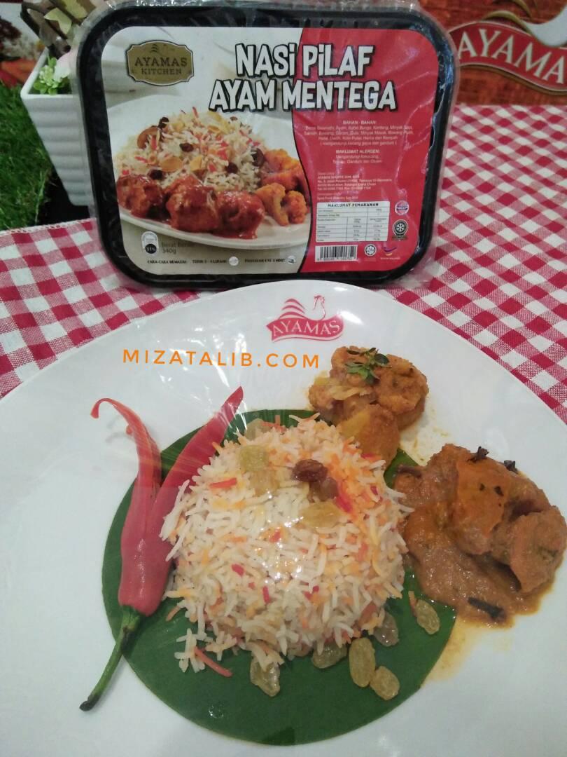 tiada alasan tak   ayamas ready  eat   miza talib Resepi Nasi Ayam Ayamas Enak dan Mudah