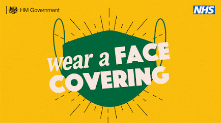 UK Government wear a face covering