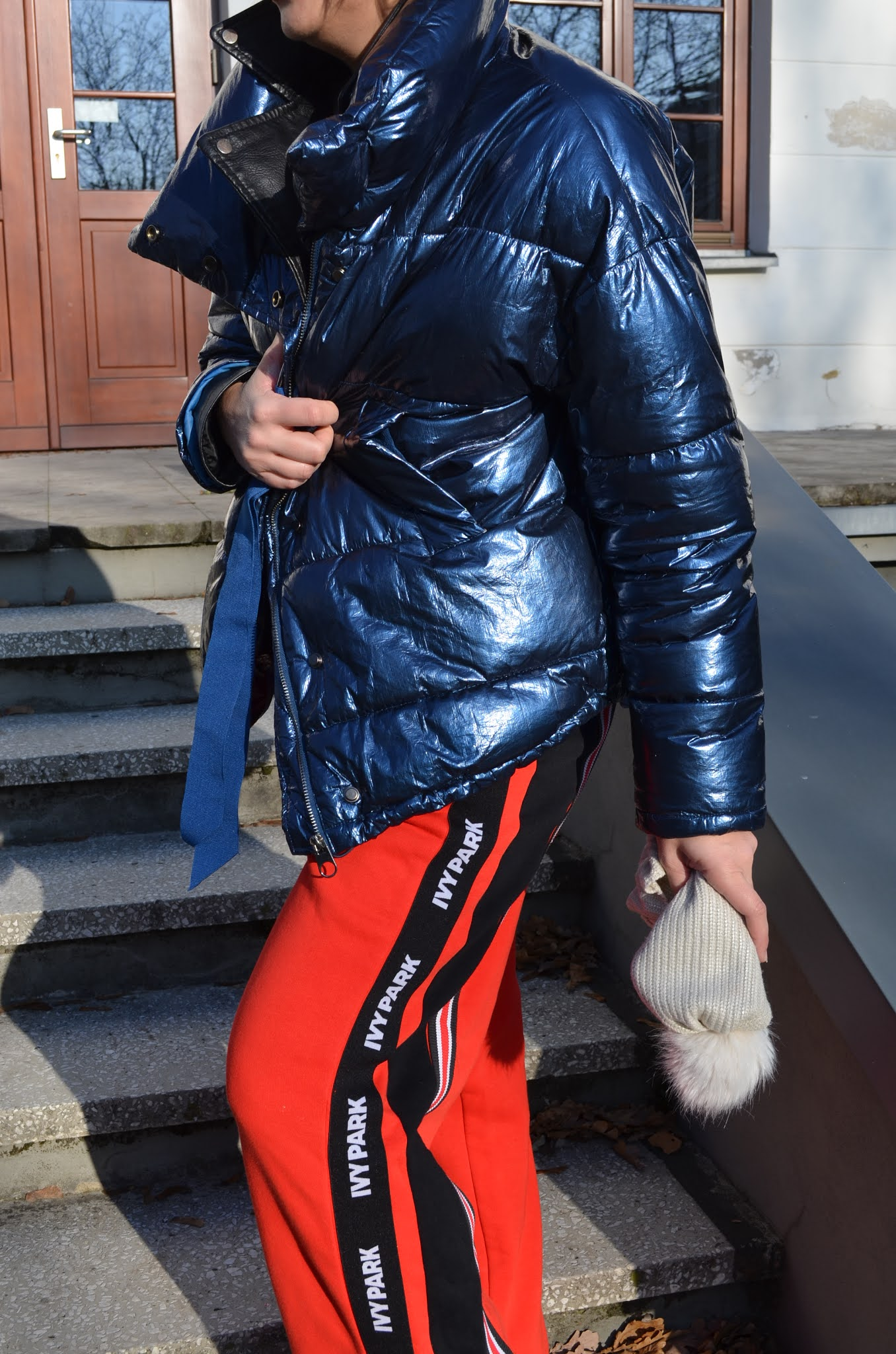 @adrianastyle_stylist;moda;fashion;ivy park trousers;zara puffa jacket;winter outfit;Reserved winter boots;Ivy Park Wide Trousers;winter mood;