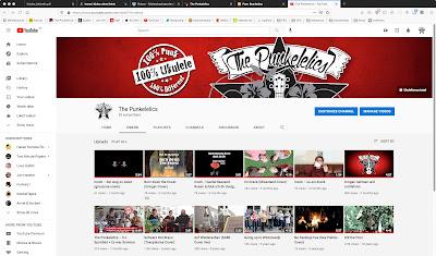 Punkelelics Youtube-Kanal