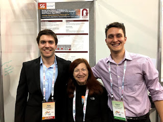 Kyle Morris, Dr. Katia Sycara, Gabriel Arpino, presenting poster at ICRA 2018