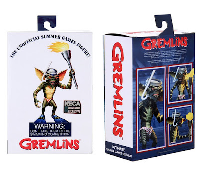 """San Diego Comic-Con 2020 Exclusive Gremlins Unofficial Summer Games Stripe 7"""" Scale Action Figure by NECA"""