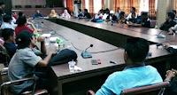 Bupati Gelar Coffee Morning dengan Pimpinan Media Cetak dan Online di Bima