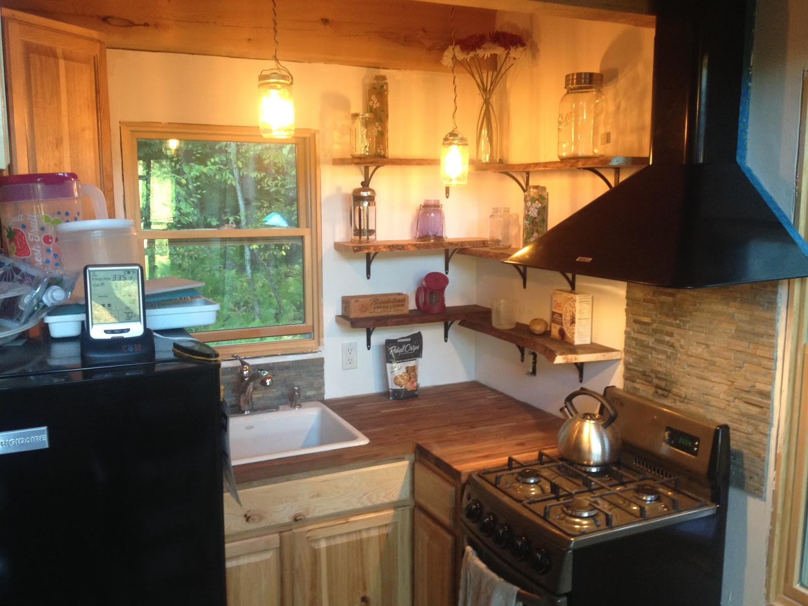 Adam And Karen S Tiny House In Equinunk Pa Major Kitchen