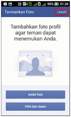 Cara Daftar Facebook Lewat Hp Android