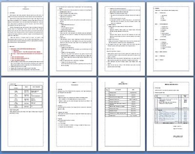 Program Kerja Ujian Sekolah (US) Tingkat SMP/MTs Berstandar Nasional