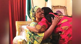 Covid-19 Buhari's Daughter Who Tested Positive For COVID-19 Returns From Isolation, Reunites With Family