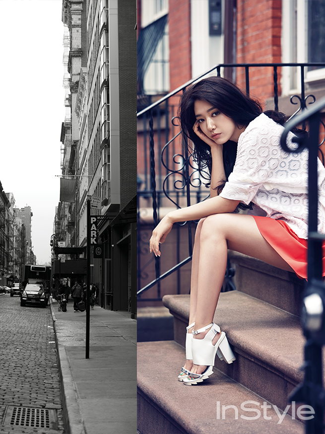 Park Shin Hye, Park Shin Hye in New York for InStyle