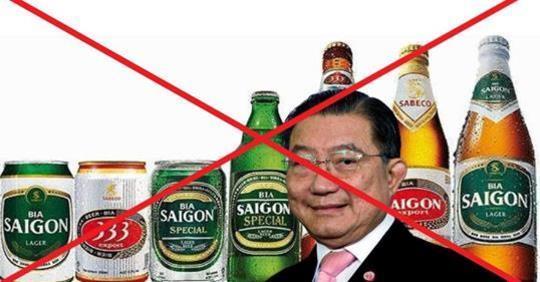 Nhiều người Việt đồng loạt tẩy chay bia Sài Gòn, vì nghi vấn đứng sau là TQ?