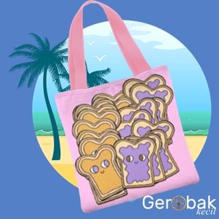 Jual Tas Tote Bag Bread