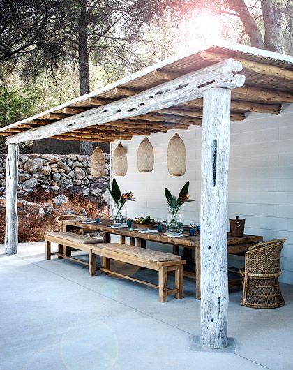 terasa rustica, design frumos, idei gradina rustica arhitectura, rustic frumos, idei, amenajare gradina, umbrar, mobilier rustic, lemn, natural