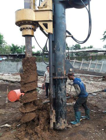 Jasa Bore Pile / Strauss Pile Banjarmasin, Kalimantan Selatan Harga Murah