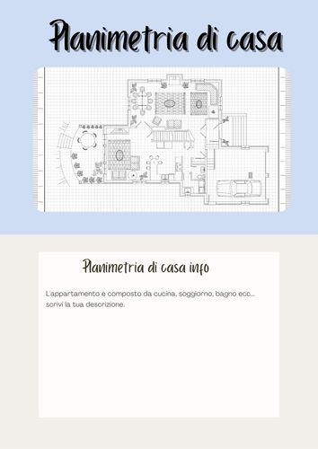 disegnare planimetria casa