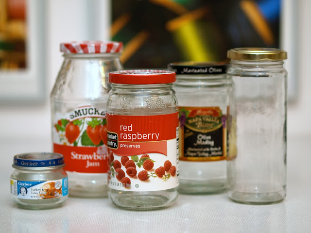 jars for snowglobes || This Little Miggy