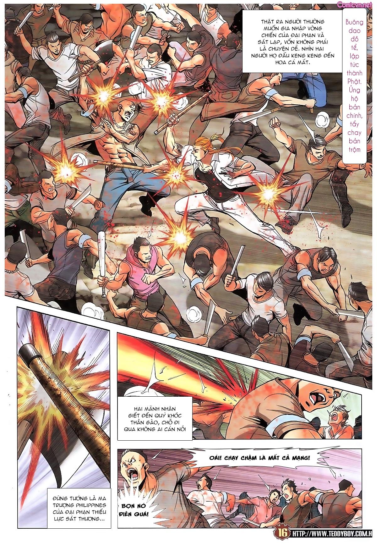 Người Trong Giang Hồ chapter 1834: kim mông không vs kim mông không trang 13