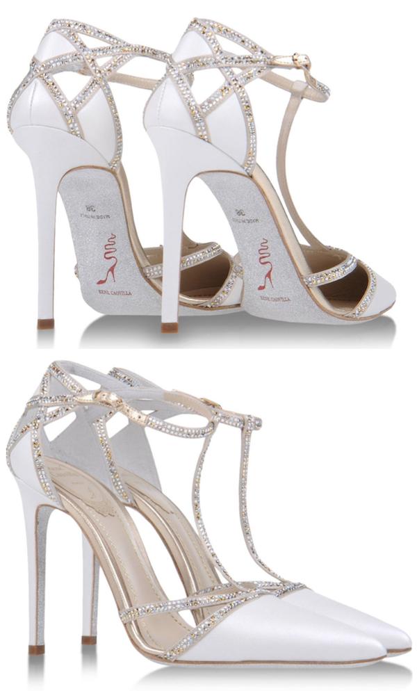 Image result for Rene caovilla bridal shoes