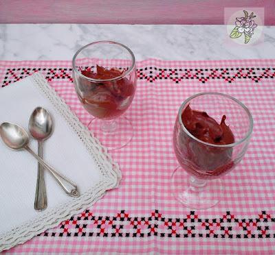 Crema Helada de Chocolate y Aguacate