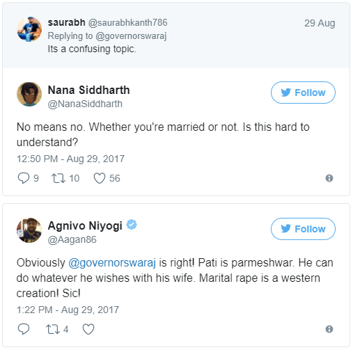 Nothing Like Marital Rape: Controversial Tweet By Sushma's Husband Swaraj Kaushal Sparks Twitter Outrage