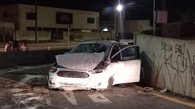 Acidente na Rodovia da Uva deixa um morto e cinco feridos em Colombo