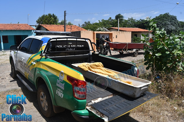 Descaso: IML de Parnaíba sem motorista corpo é transportado em viatura da Polícia Militar