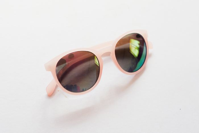 thrifted pink sunnies