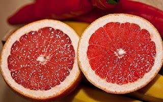 58 Kcal grapefruit é uma fruta para perder peso