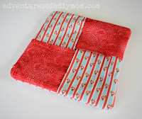 easy fabric hotpad