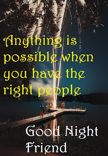 images of good night friends with quotes