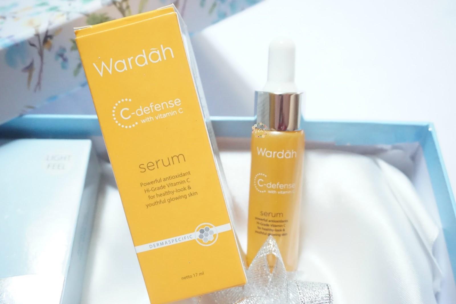 Mau Kulit Glowing Seperti Song Hye Kyo Cobain Nih 7 Rekomendasi Wardah C Defence Serum Hydrating Facial