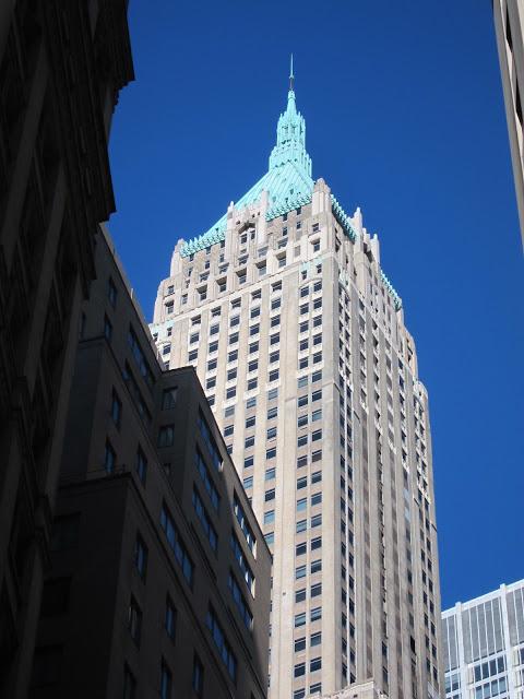 Skyskrapor Manhattan New York