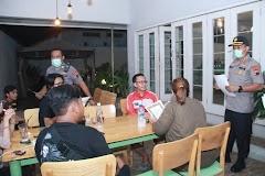 Cegah Covid-19, Polres Batang Sisir Kafe Dan Tempat Hiburan